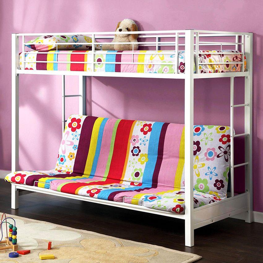 Letto a castello con divano: comfort e ottimizzazione ...