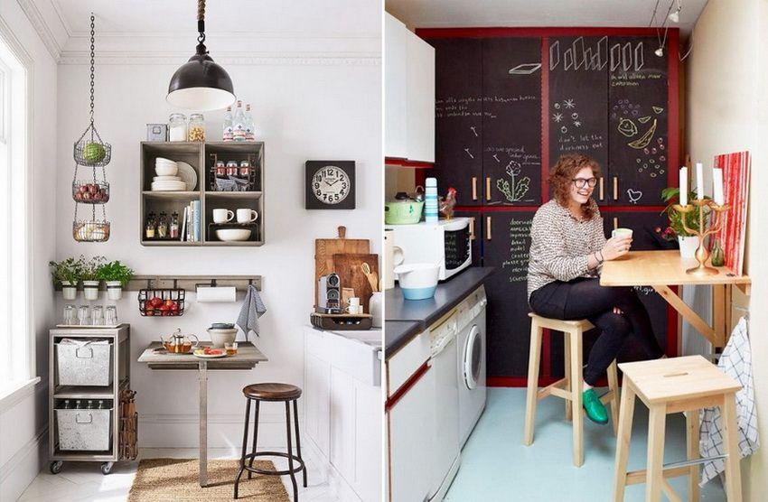 Piccolo tavolo da cucina per una piccola cucina ...