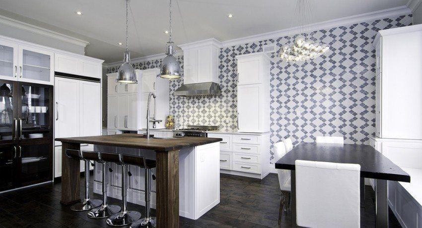 Carta da parati lavabile per la cucina: un catalogo di idee ...