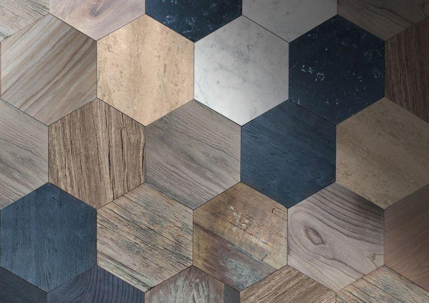 Piastrelle per pavimenti in legno come alternativa alla